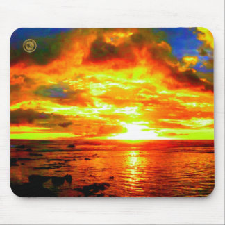 Hawaiian Sky Design Original II Mouse Pad