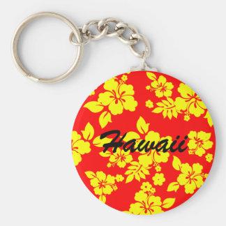 Hawaiian soleado llavero redondo tipo pin