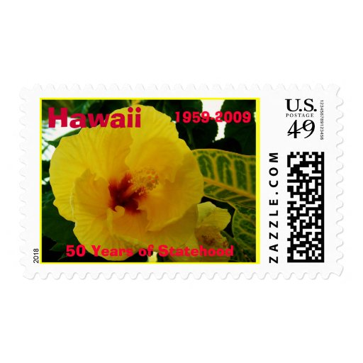 Hawaiian Statehood anniversary stamp