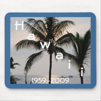 Hawaiian Statehood Mouse Pad