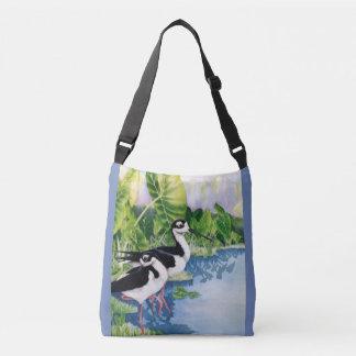 Hawaiian Stilts (Ae'o) Crossbody Bag