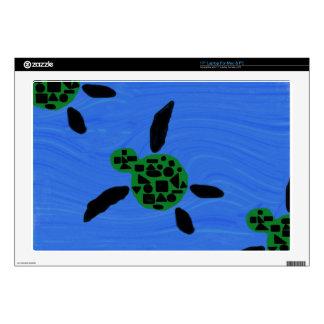 Hawaiian Style Honu Art Laptop Skin