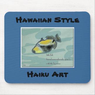 Hawaiian Style Humuhumunukuku apua'a Haiku pad Mouse Pad