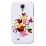 Hawaiian-style 'I'iwi Samsung Galaxy S4 Cases