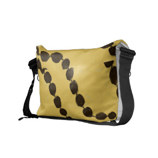 Hawaiian Style Kukui Nut Messenger Bag