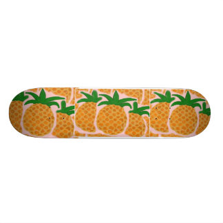 Hawaiian Style Pineapple Skateboard