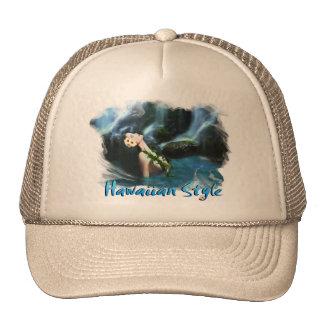 Hawaiian Style Trucker Hat