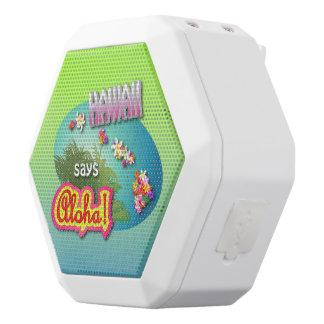 Hawaiian Style White Bluetooth Speaker