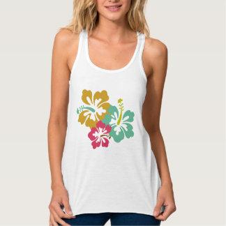 Hawaiian Summer ladies vest Tank Top