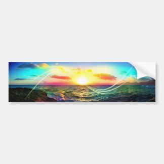 Hawaiian Sunrise Bumper Stickers