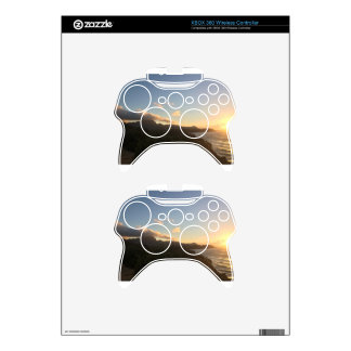 Hawaiian Sunrise Xbox 360 Controller Skin