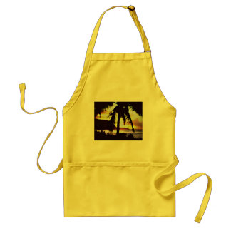 Hawaiian Sunset Apron