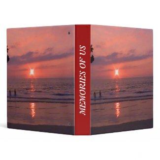 Hawaiian Sunset at Ocean Binder binder