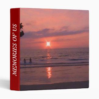 Hawaiian Sunset at Ocean Binder