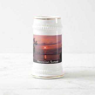 Hawaiian Sunset Beer Stein