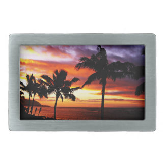 Hawaiian sunset Belt Buckle