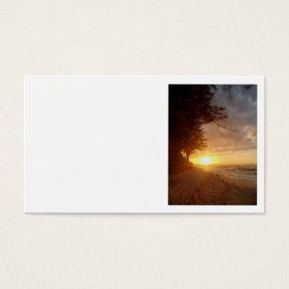 Hawaiian Sunset Business Card