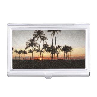 Hawaiian Sunset Business Card Case