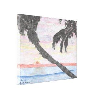 Hawaiian Sunset by Julia Hanna
