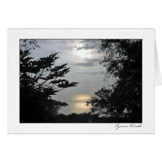 Hawai'ian Sunset Card