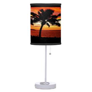Hawaiian Sunset custom table lamp