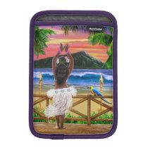 HAWAIIAN SUNSET HULA iPad MINI SLEEVE