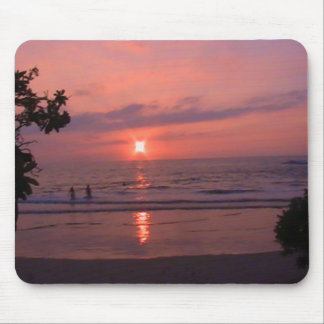 Hawaiian Sunset Mouse Pad