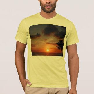 Hawaiian Sunset On a Shirt