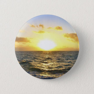Hawaiian Sunset Pinback Button