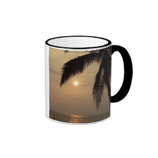 Hawaiian Sunset Ringer Mug