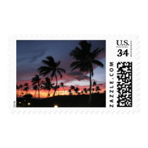 Hawaiian Sunset Stamp
