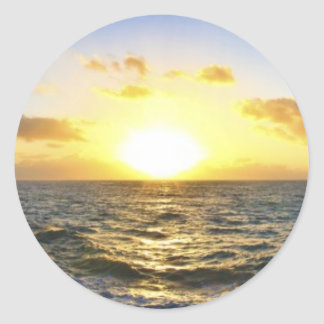 Hawaiian Sunset Stickers
