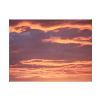 Hawaiian Sunset Wrapped Canvas 3