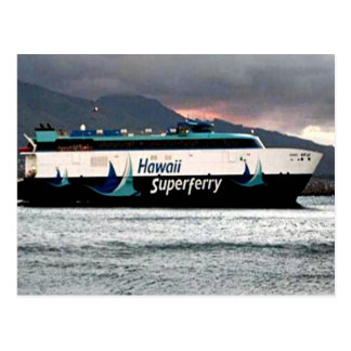 Hawaiian Super Ferry Postcard