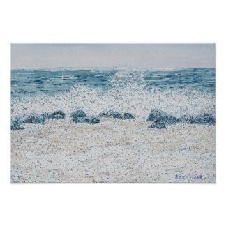 Hawaiian Surf Photo Print
