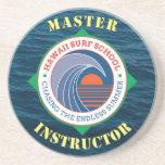 Hawaiian Surf School Master Instructor Coasters