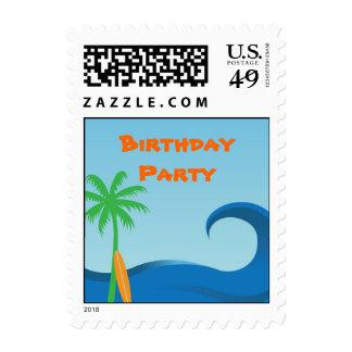 Hawaiian Surf US Postage Stamp