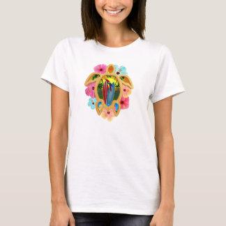 Hawaiian Surfboard Sunset T-Shirt