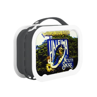 Hawaiian Surfing Beaches Lunch Boxes