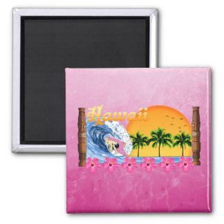 Hawaiian Surfing Magnets