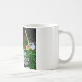 HAWAIIAN TALKING IRISES COFFEE MUG