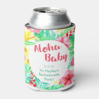 Hawaiian Themed Bachelorette Drink Holder Can Cooler
