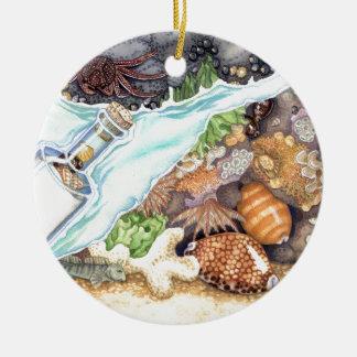 Hawaiian Tide Pool Ceramic Ornament