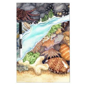 Hawaiian Tide Pool Dry-Erase Board
