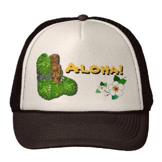 Hawaiian Tiki Hat 2