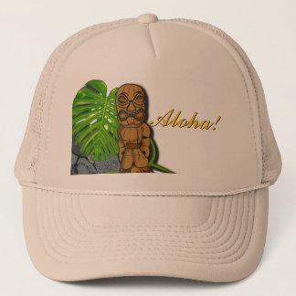 Hawaiian Tiki Hat 3