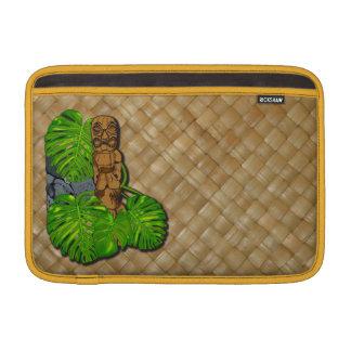 Hawaiian Tiki Lauhala iPad Sleeves
