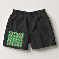 Hawaiian Tiki Repeat Pattern Boxers