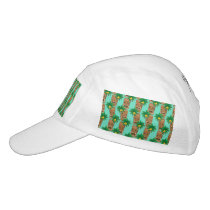 Hawaiian Tiki Repeat Pattern Hat