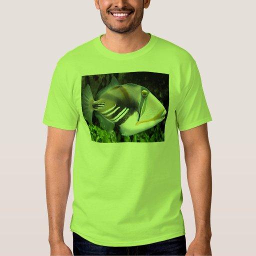 Hawaiian Tropical Fish Mens Shirt